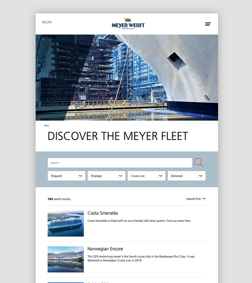 Blumdesign Projekte Meyer Werft Relaunch Bild3 Links
