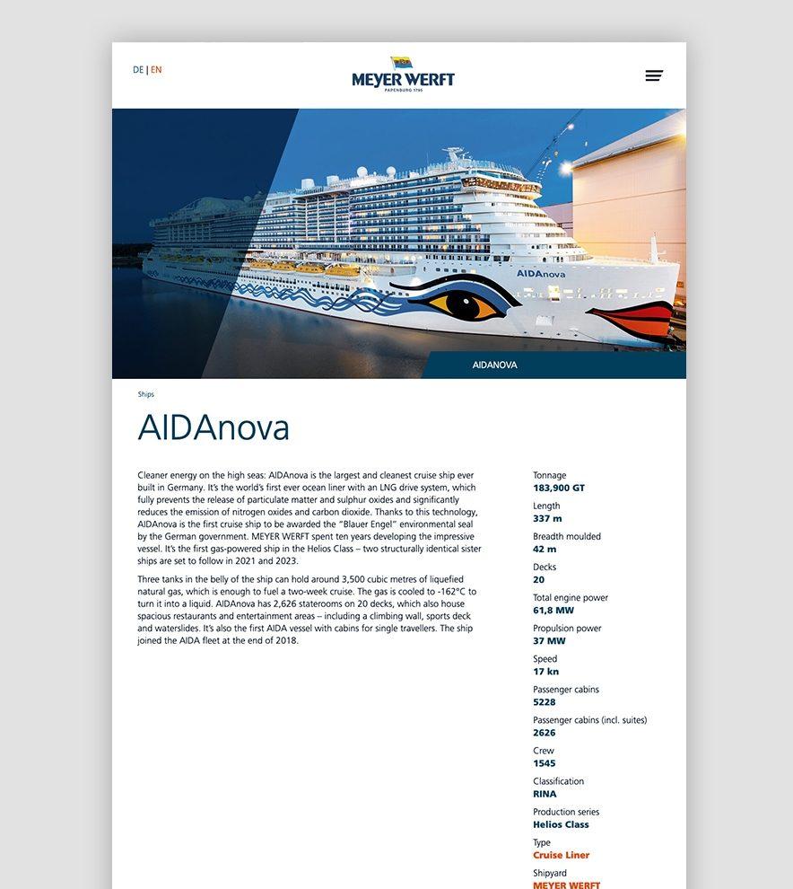 Blumdesign Projekte Meyer Werft Relaunch Bild3 Rechts